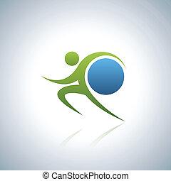 Sportsman and world