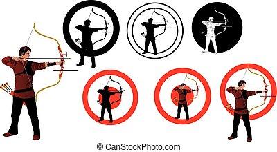 sportsmen- arrows of modern archery