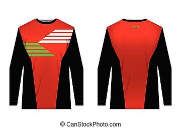 sportswear sublimation print - Templates of sportswear...