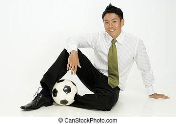 Sporty Businessman