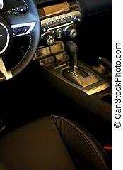 Sporty Car Interior
