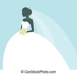 sposa, bellezza