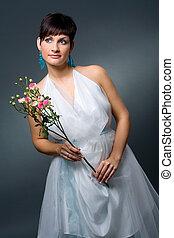 sposa, vestire, matrimonio