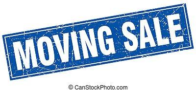 spostamento, vendita, quadrato, francobollo