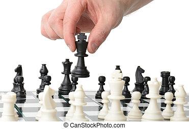 spostare, strategico
