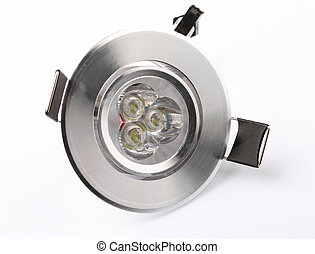 Spot Ceiling Led Light - Spot ceiling led light isolated on ...