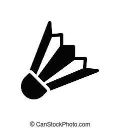 spot glyph flat icon