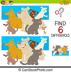 spot the differences with dogs