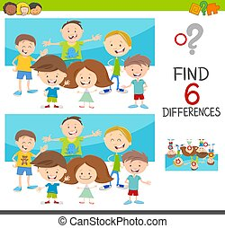 spot the differences with kids