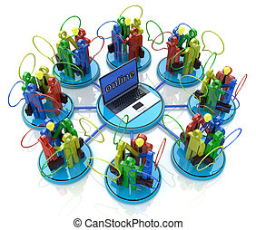 spotkania, online