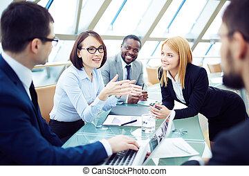 spotkanie, komunikowanie