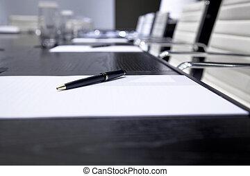spotkanie pokój, handlowy
