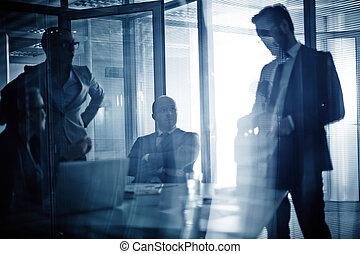 spotkanie, współpracowniczki
