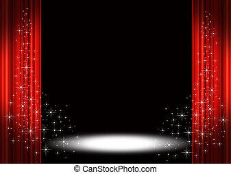 spotlight, arrangera