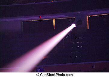 Spotlight dark