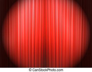 Spotlight on the main stage
