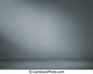 spotlight, studio, inre