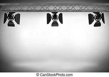 Spotlight - Very high resolution 3D rendering of a...