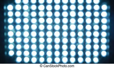 Spotlight, which consists of bright blue Light-emitting...