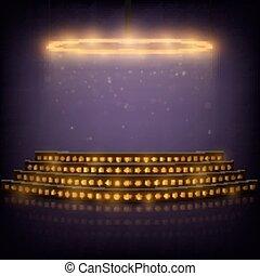 spotlights., 表現, 指揮臺