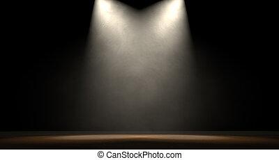 spotlit, palcoscenico