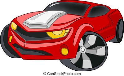 spotprent, auto