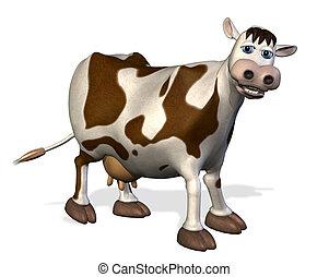 spotprent, koe
