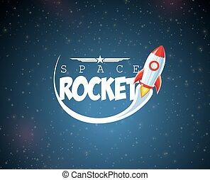 spotprent, raket