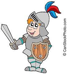 spotprent, ridder