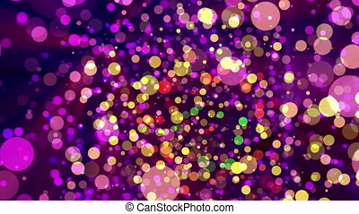 spots color dots abstract background loop motion