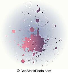 spots., combinaison, vecteur