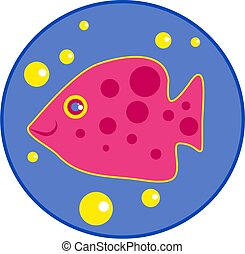 spotty fish - fish with spots