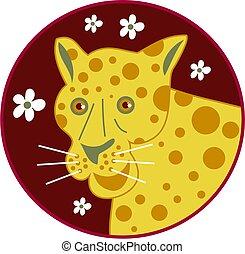 spotty leopard - leopard with spots