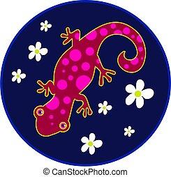 spotty lizard - lizard with spots