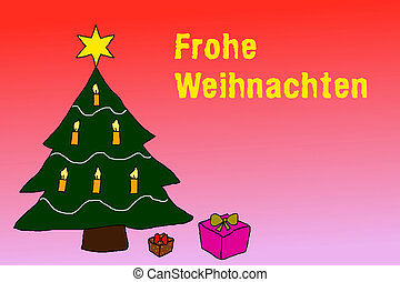 clipart von baum weihnachten sprache sprachen. Black Bedroom Furniture Sets. Home Design Ideas