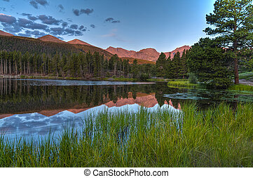 Spraque Lake Colorado - Sunrise