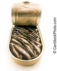Sprats canned