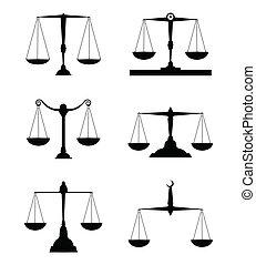 sprawiedliwość czyszczą z łusek