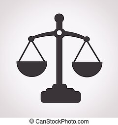 sprawiedliwość, skalpy, ikona