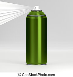 Spray - 3D rendering of the spray