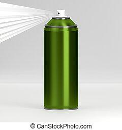 Spray - 3D rendering of the spray