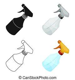 Spray. Barbershop single icon in cartoon style vector symbol stock illustration web.