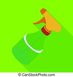 Spray. Barbershop single icon in flat style vector symbol stock illustration web.