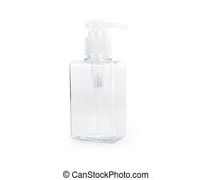 Spray bottle isolated on white background