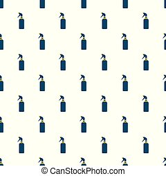 Spray bottle pattern seamless vector