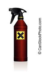 Spray Bottle Poison Harmful Danger