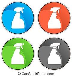 Spray Bottle Set