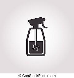 spray icon on white background