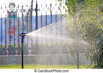 spray irrigation
