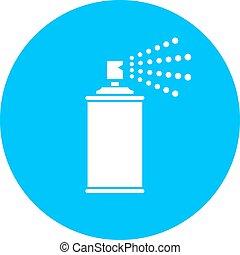 Spray vector icon